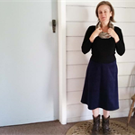 Corduroy Winter Skirt